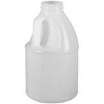 1/2 Gallon (64 oz.)  Round Bottle