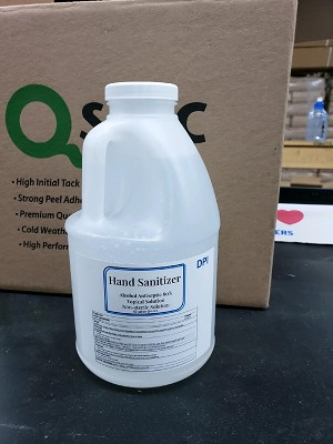 1/2  gallon container DPI Hand Sanitizer